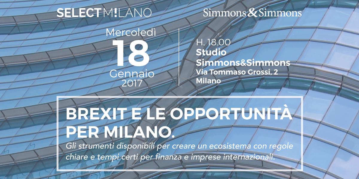 Brexit e le opportunità per Milano